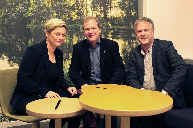 Petra Charlotte Arrenäs, Ulf Hansson, Samuel Henningsson.
