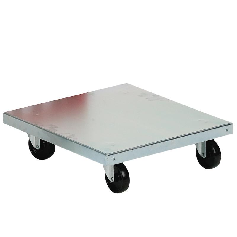 Tralla 420x420, 70 mm hjul