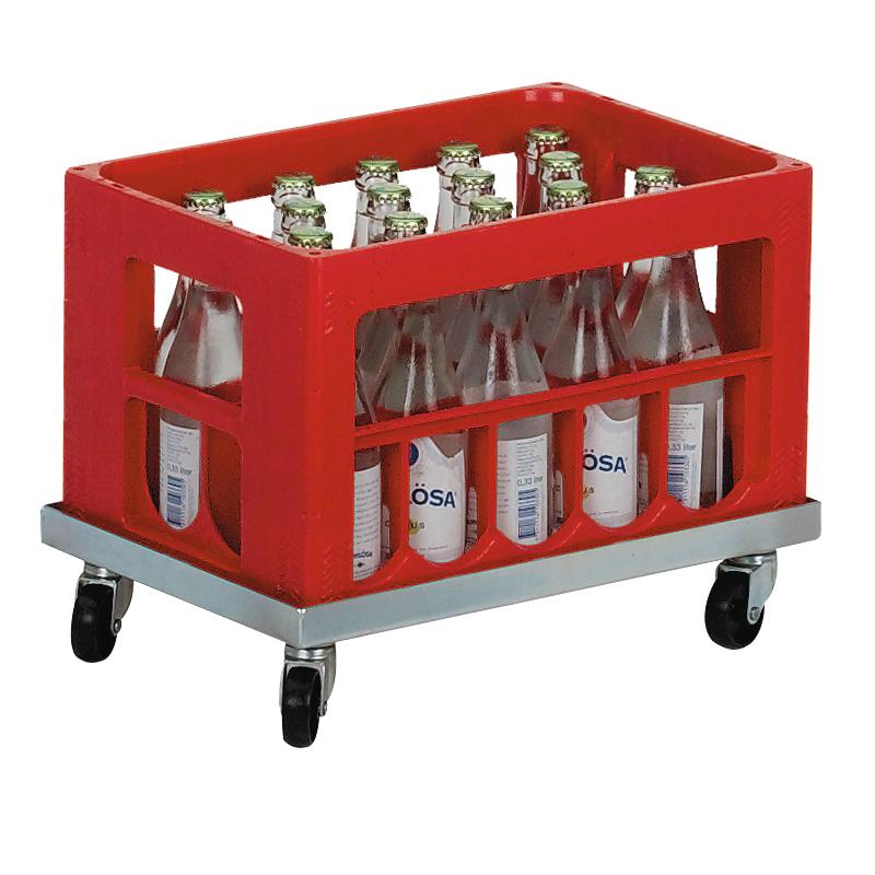 Backvagn för läskback, galvad
