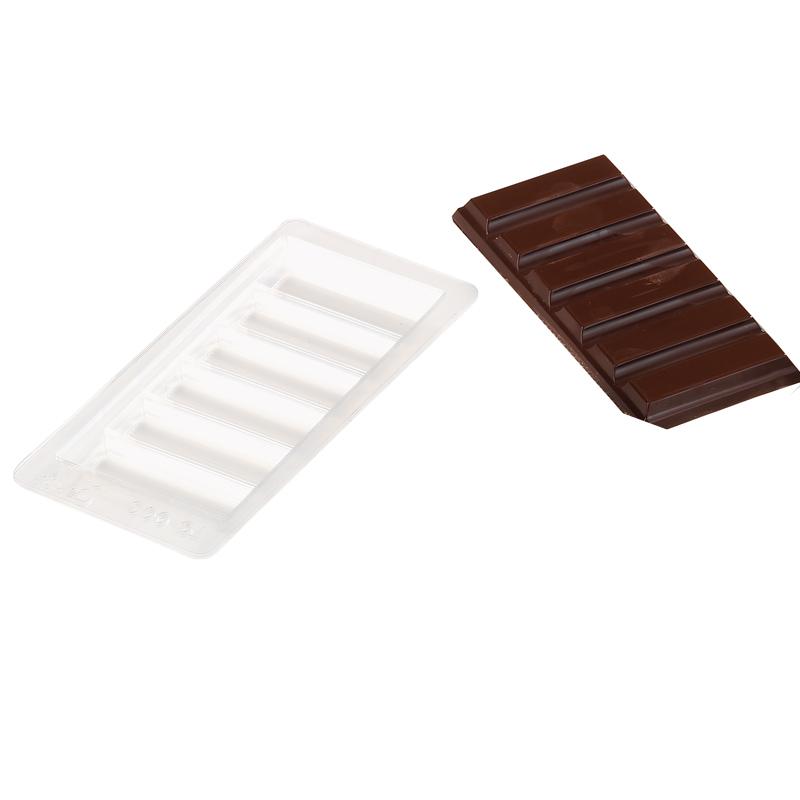 Form Chokladkaka 150x70mm  6 rutor 5 st/fp