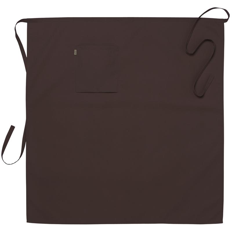 Midjeförkläde 95x100 cm brun