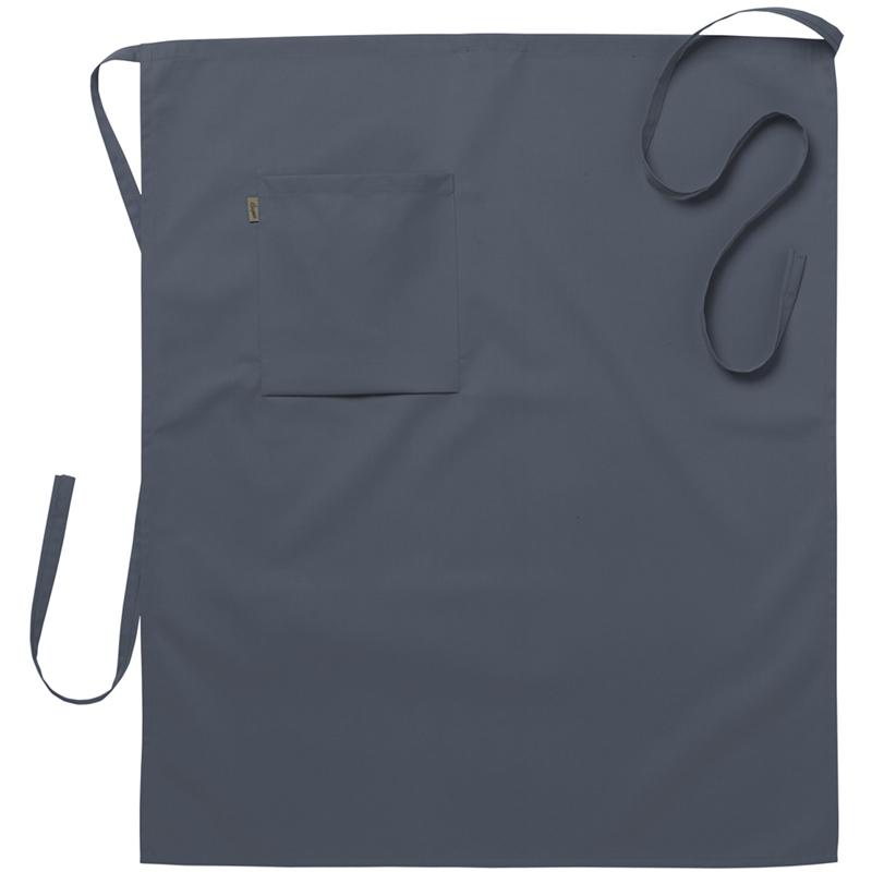Midjeförkläde 75x85 cm grå
