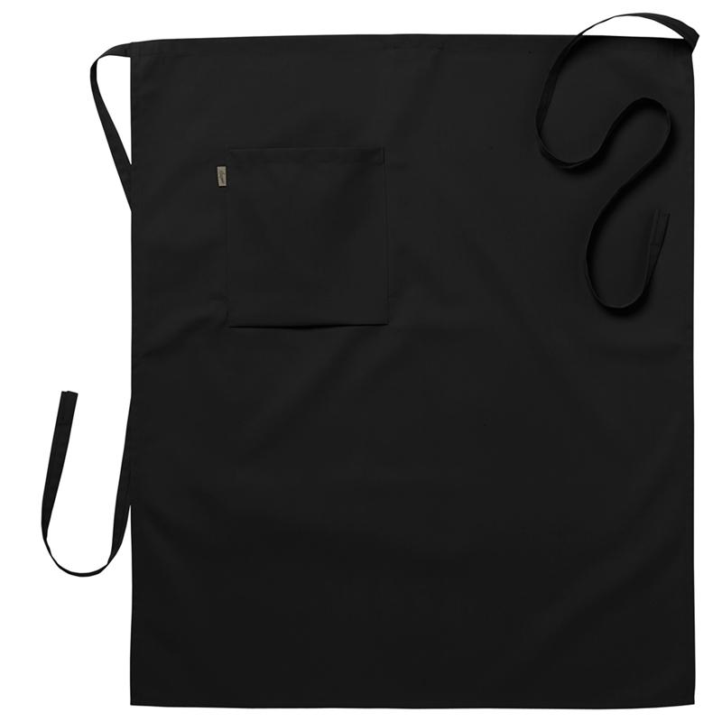 Midjeförkläde 75x85 cm svart