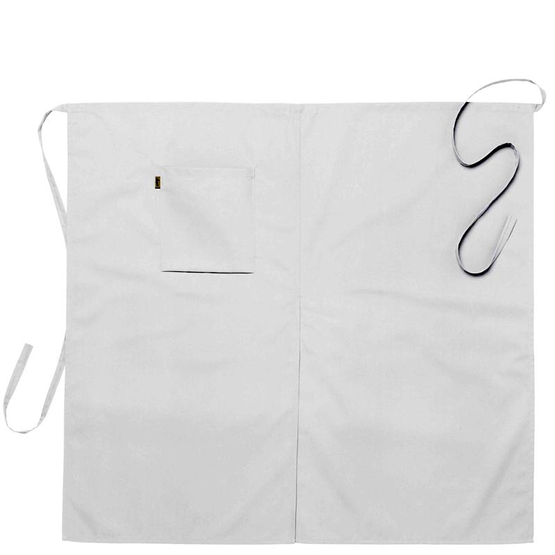 Midjeförkläde 100x95 cm vit