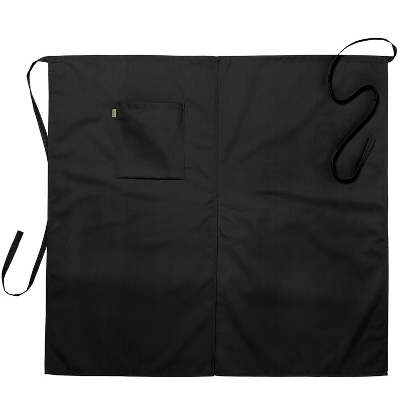 Midjeförkläde 100x95 cm svart