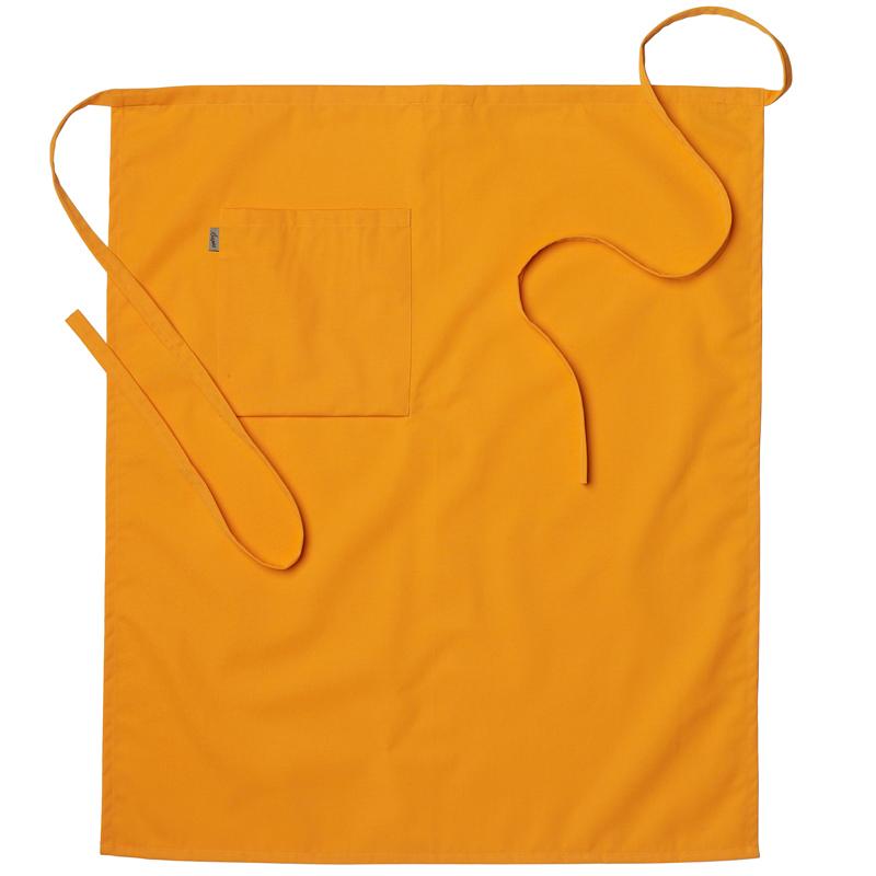 Midjeförkläde 100x95 cm orange