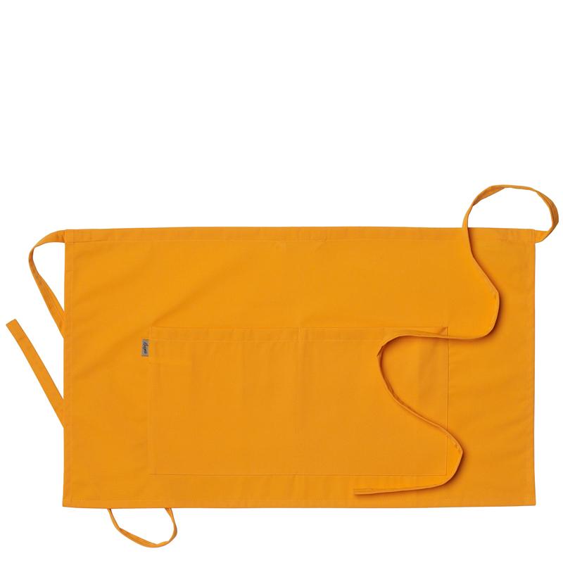 Midjeförkläde 75x43 cm orange
