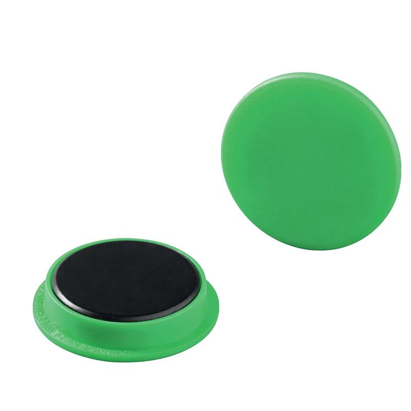 Magnet 37 mm grön 20 st/fp