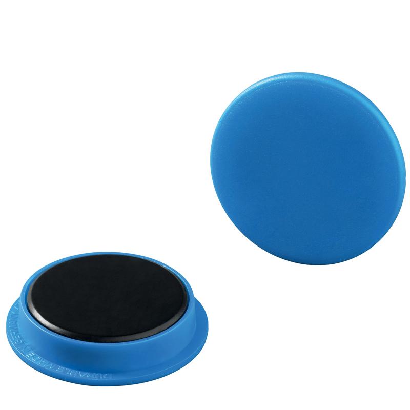 Magnet 37 mm blå 20 st/fp