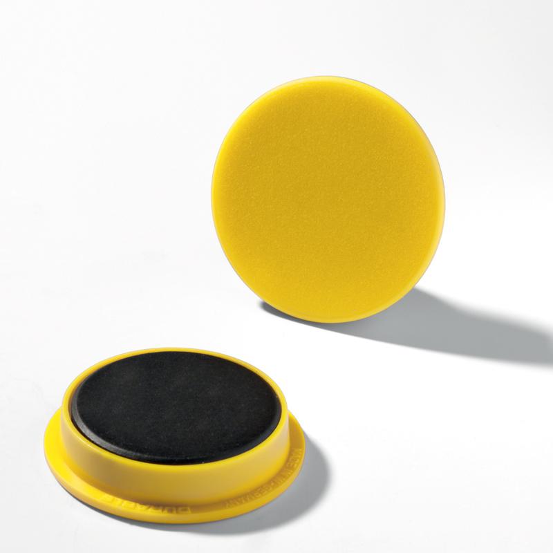 Magnet 37 mm gul 20 st/fp