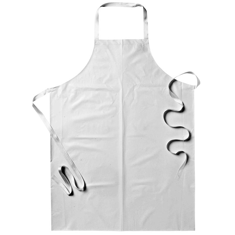 Förkläde vit galon livsmedel