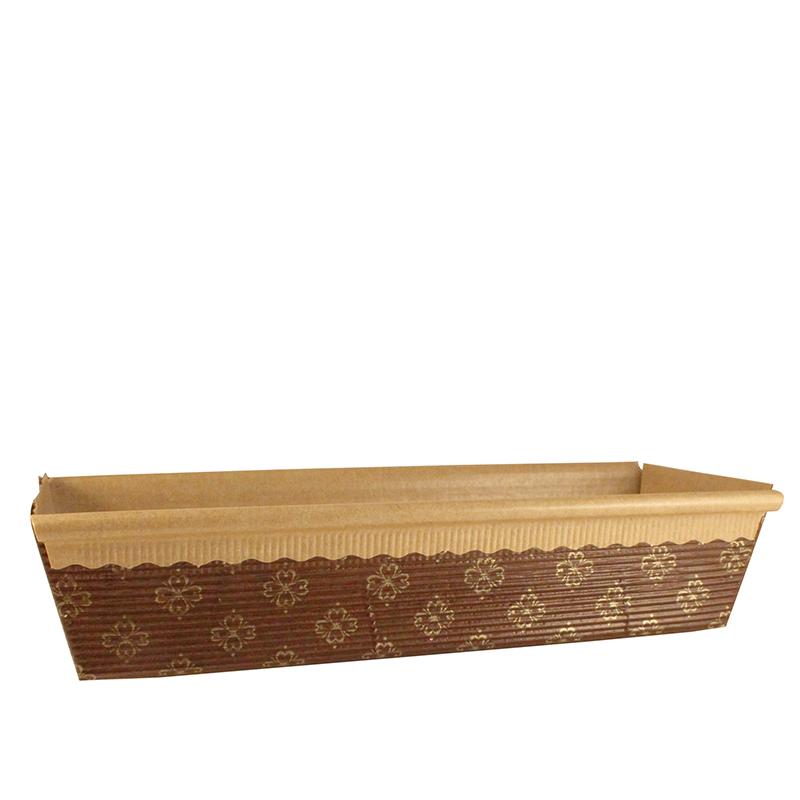 Bröd- & sockerkaksform, 65x200 mm 1000 st/fp