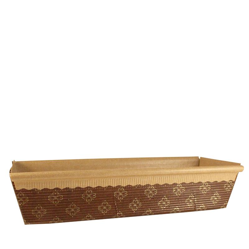 Bröd- & sockerkaksform, 80x235 mm 480 st/fp