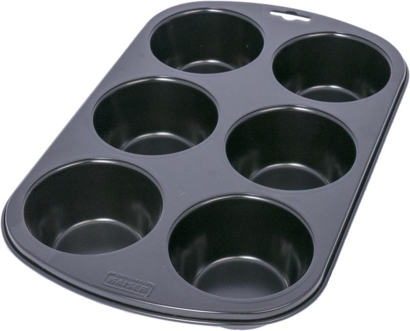 Muffinsform nonstick 6-set