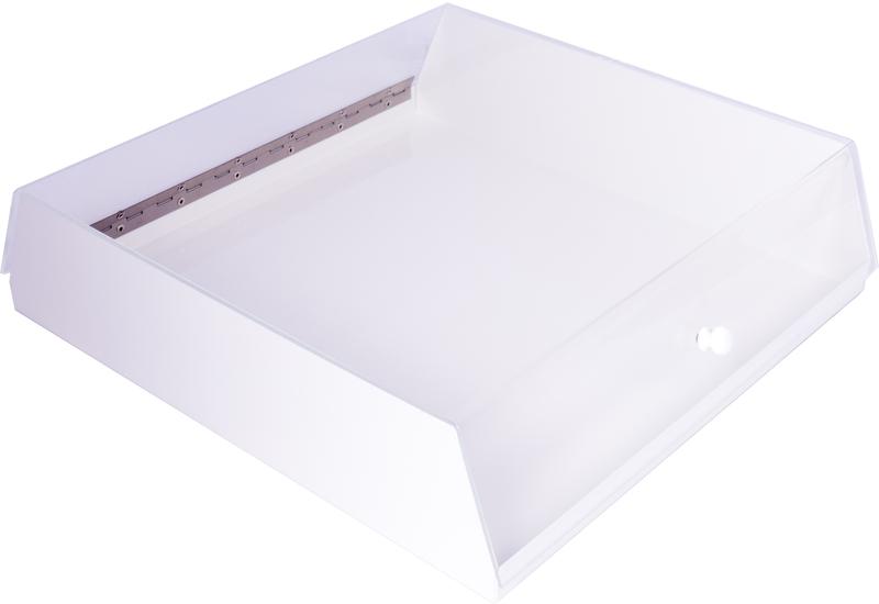 Brödlåda, vitlack 450x450x120 mm
