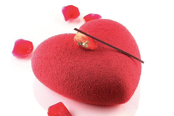 Silikonform Hjärta,142x137x50mm
