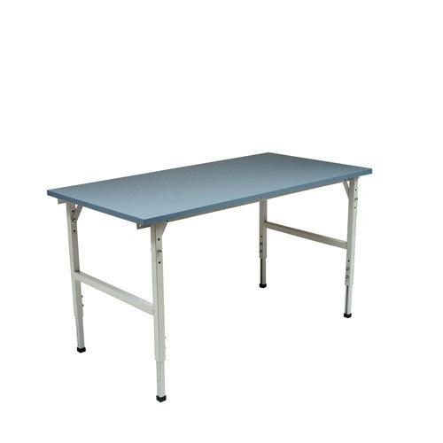 Arbetsbord 2400x800 mm blå (77240)