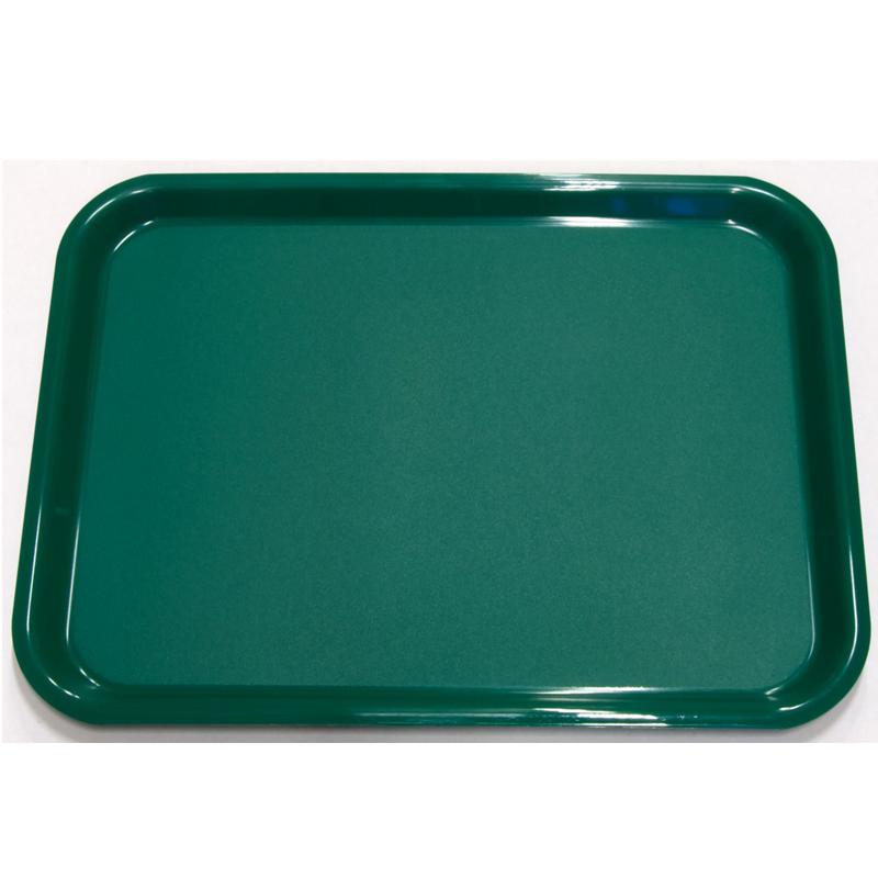 Bricka 430x330 mm grön