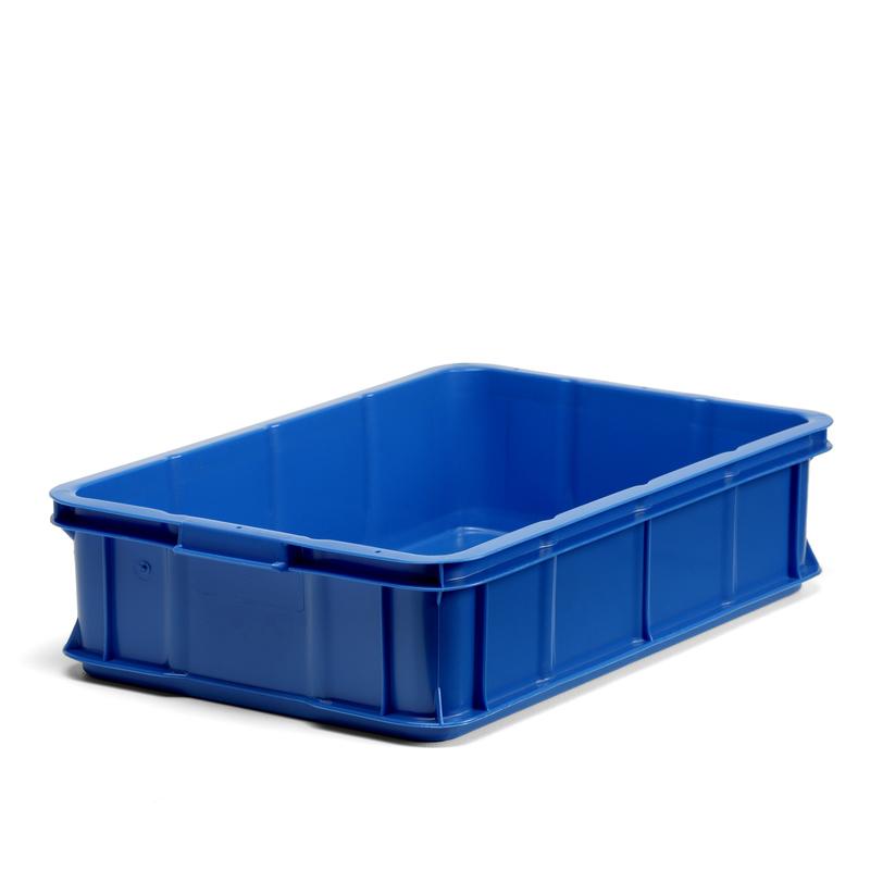 Plastback blå, 600x400x147mm