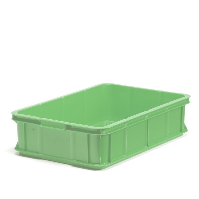 Plastback grön, 600x400x147mm