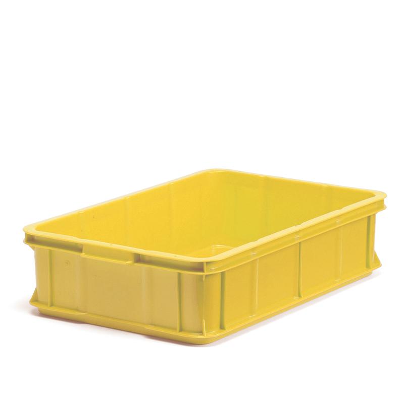 Plastback gul, 600x400x147mm