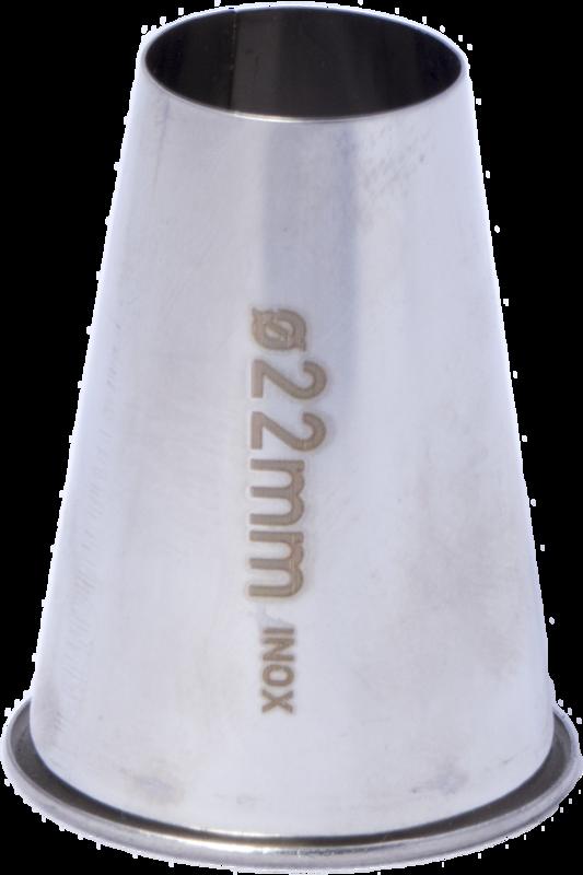 Rundtyll, RF. nr 22  22 mm