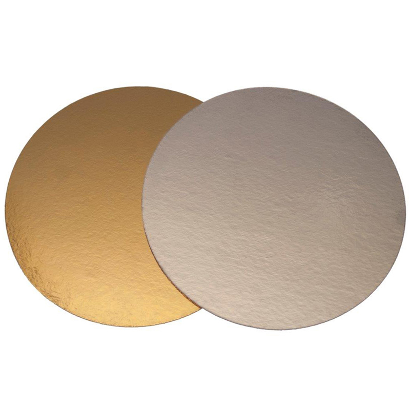 Tårtbricka guld Ø240 mm 100 st/fp