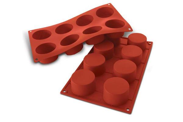 Siliconflex cylinder D=60x35 mm 8 fig 3-pack