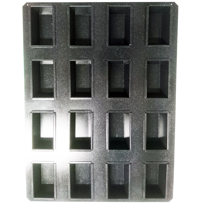 Formset,minibröd 105x62x45 mm, 12 set PFA