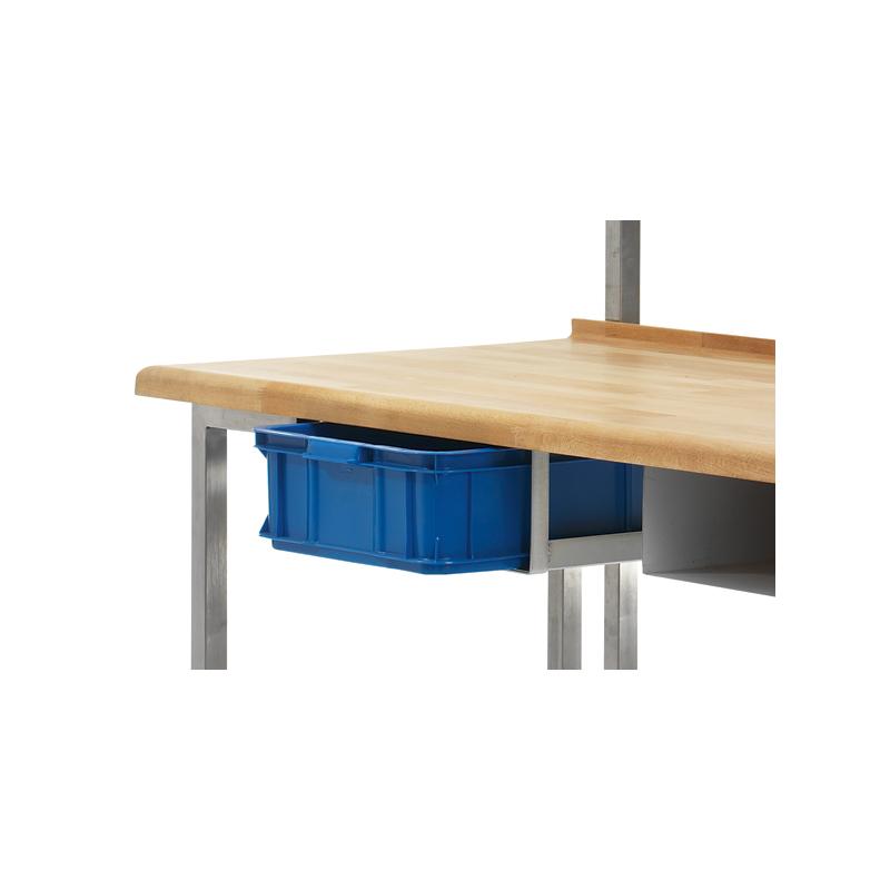 Bakbordslåda, med gejdrar