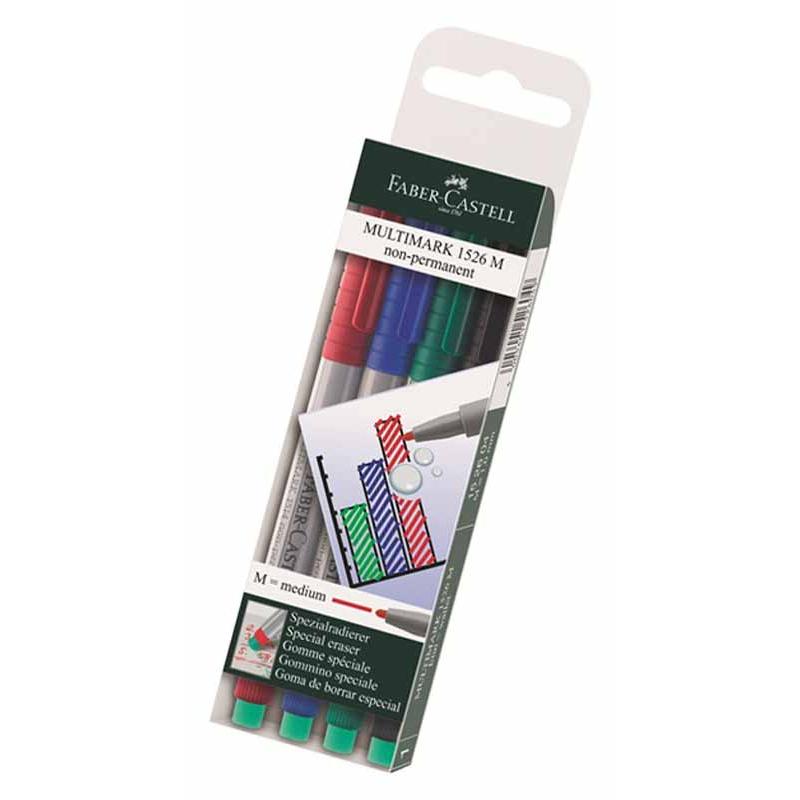 Färgpen. 4-set, 0,6 mm spets