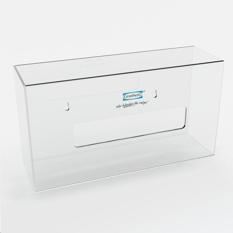 Dispenser plexi för Engångshandske 200-pack