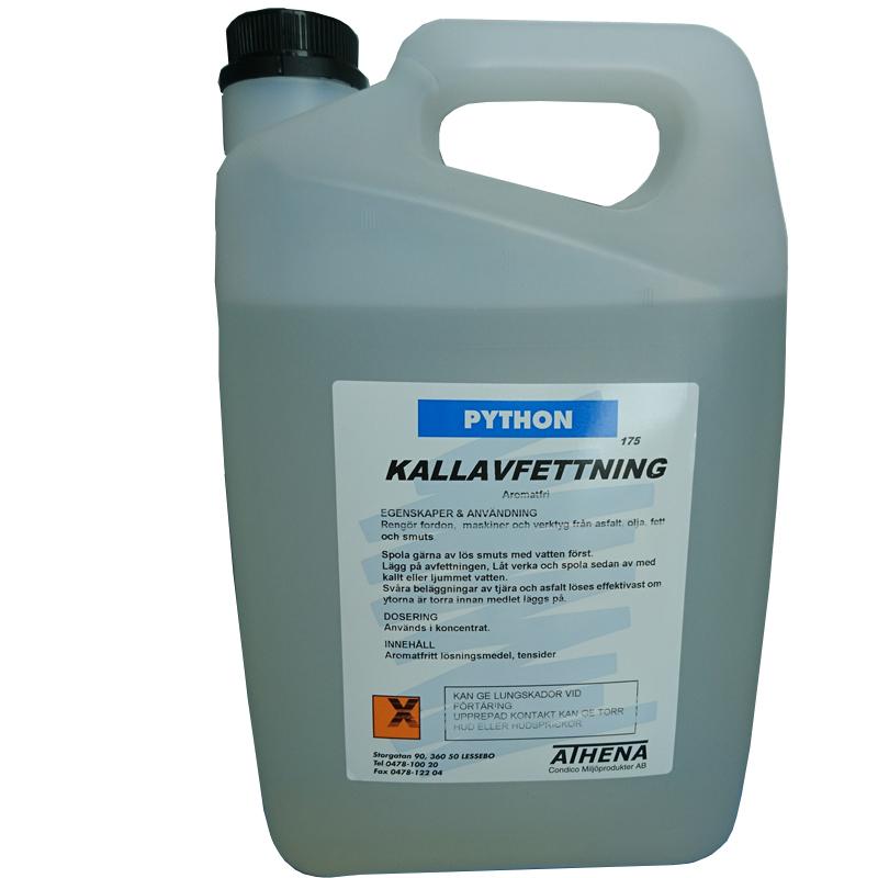 Kallavfettning, 5 liter