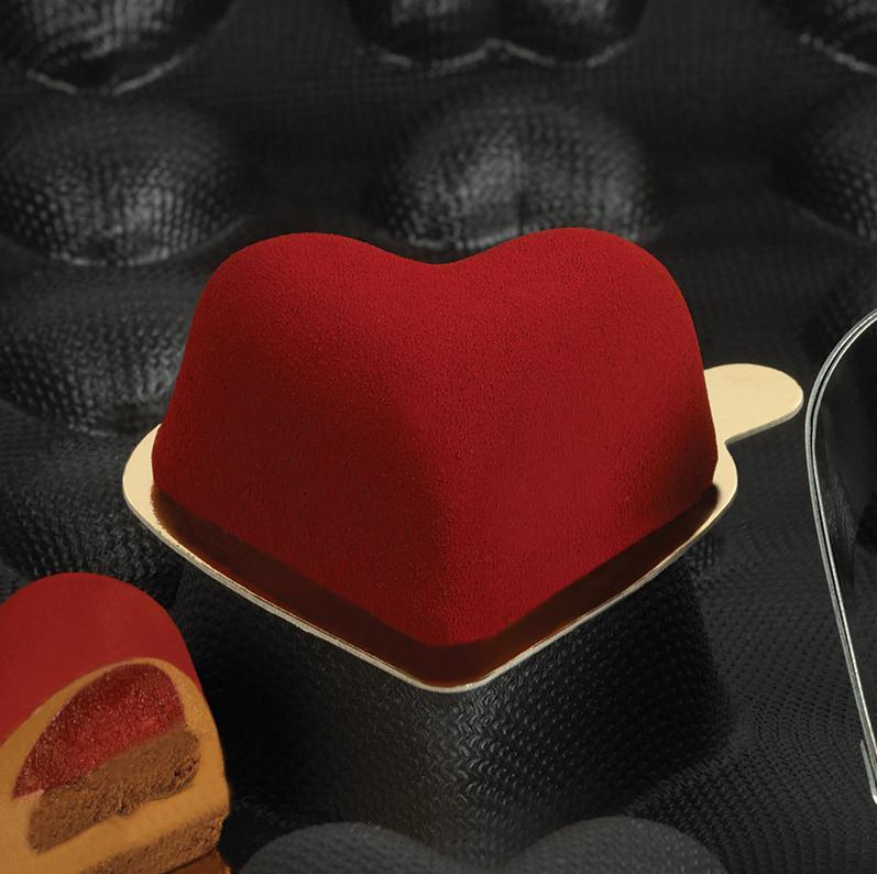 Flexipan hjärta 75x65x35 mm 20 fig