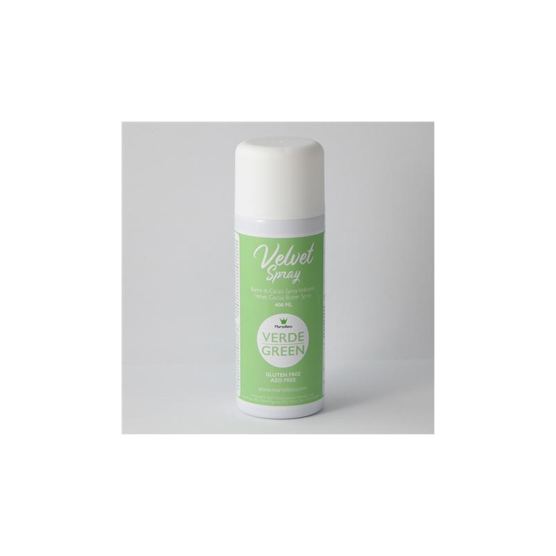 Spray, sammet, grön
