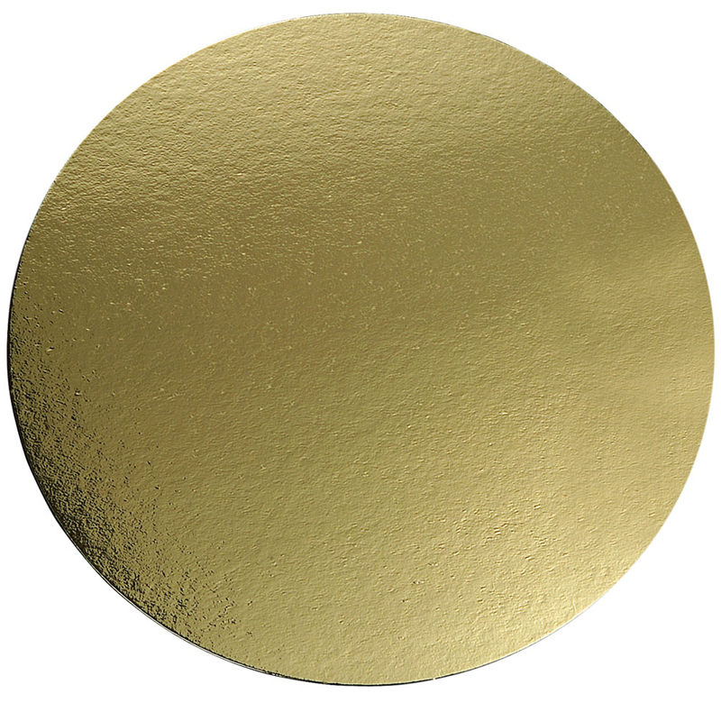 Tårtbricka guld Ø360 mm 100 st/fp