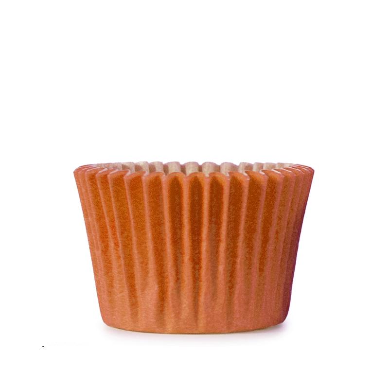 Muffinsform rund Ø 50xH36mm, orange 1000st/fp
