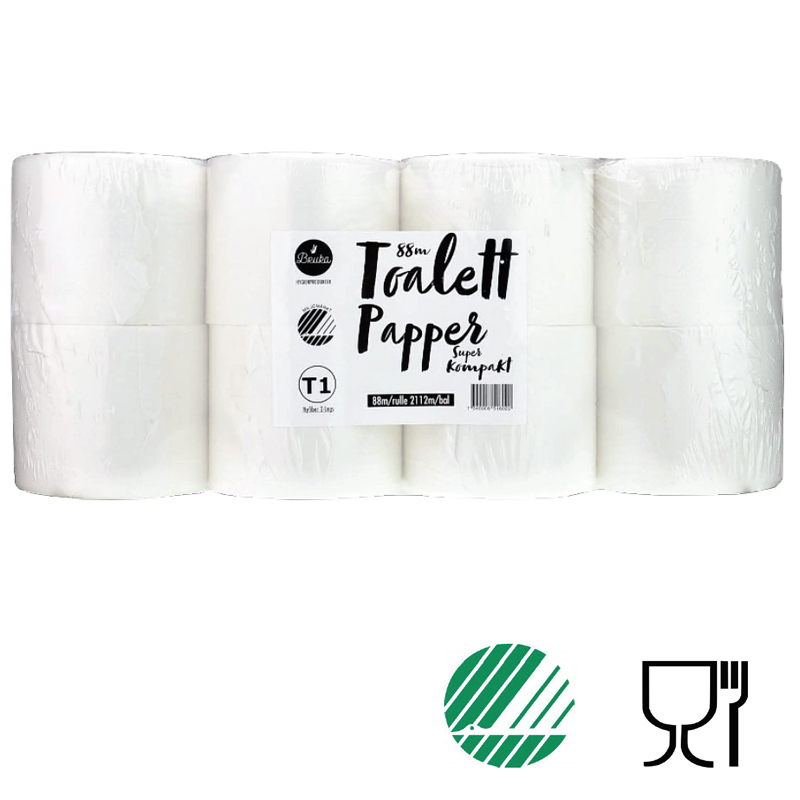 Toalettpapper Bruka, 24 rullar, 88 m/rl