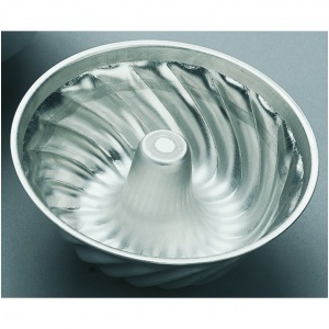 Spiralform, 0,9 l Ø 180x70mm, alu