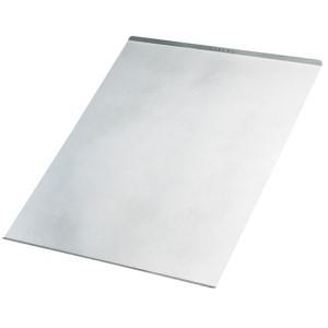 Slätplåt 600x450 mm sil