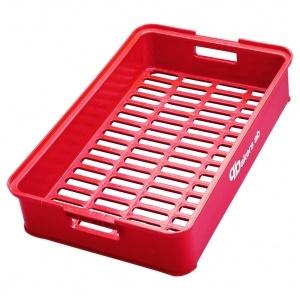 Brödback, röd 630x405x130 mm