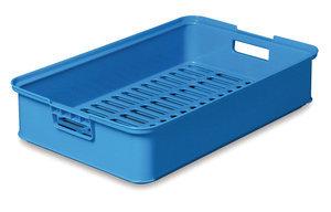 Brödback, blå 630x405x130 mm