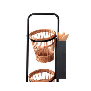 Baguettepåshållare, svart