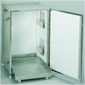 Tårtcontainer oisolerad alum. H750 B510 mm