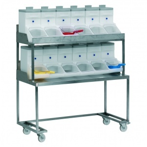 Dispenserbord RF ( inkl.12x21 lit)