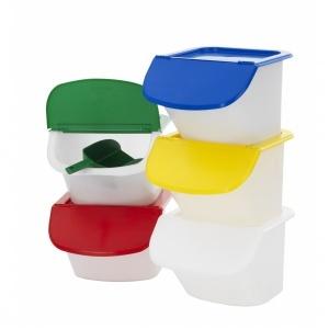 Lock, grön  för behållare 15 lit