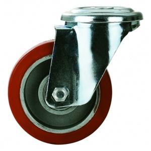 Ugnshjul, C-hål, Röd Silikon