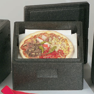 Tårt & pizzabox med lock H 265 mm