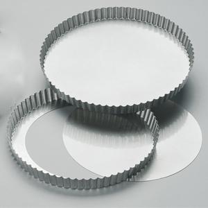 Krusform D240 mm, lös botten, bleckplåt