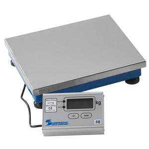 Elektronisk plattformsvåg spolsäker 50 kg